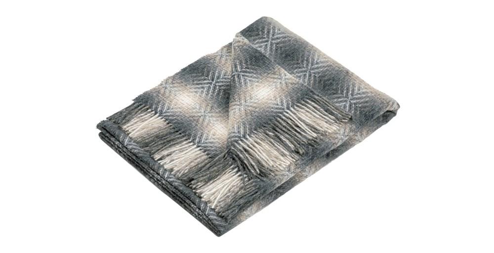 Natural Merino Wool Throw